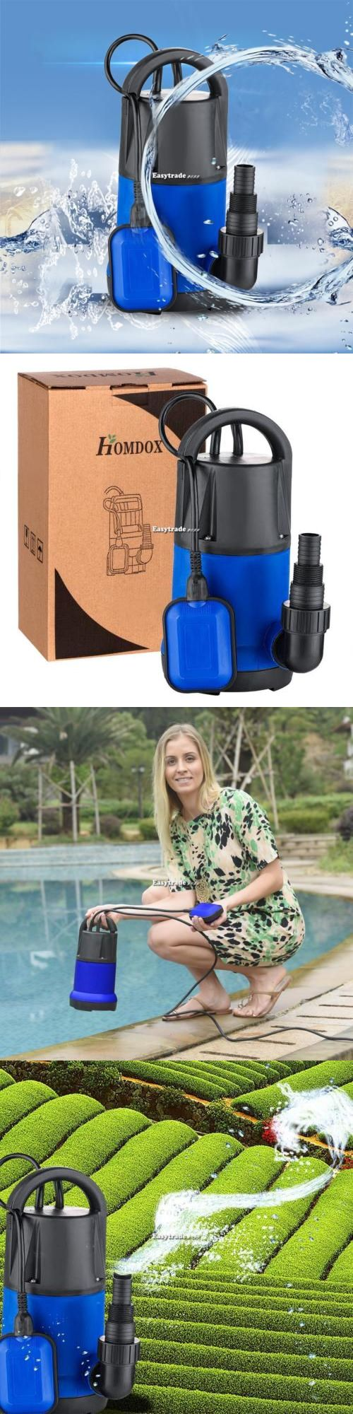 Drip Irrigation 139909: Homdox Submersible Water Pump 1100W 3400Gph Clean Dirty Pool Flood Drain Esy1 -> BUY IT NOW ONLY: $46.28 on eBay!