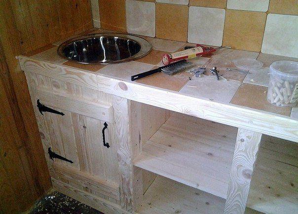 Деревянная кухня своими руками | ВСЁ СВОЁ!