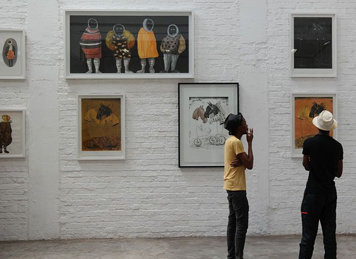 Beast of Burden by Colbert Mashile at NIROXprojects Johannesburg | 15 March - 8 April 2015 | www.art.co.za/colbertmashile