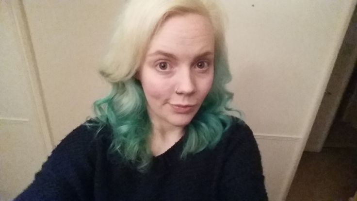 Manic panic / mermaid dye & review