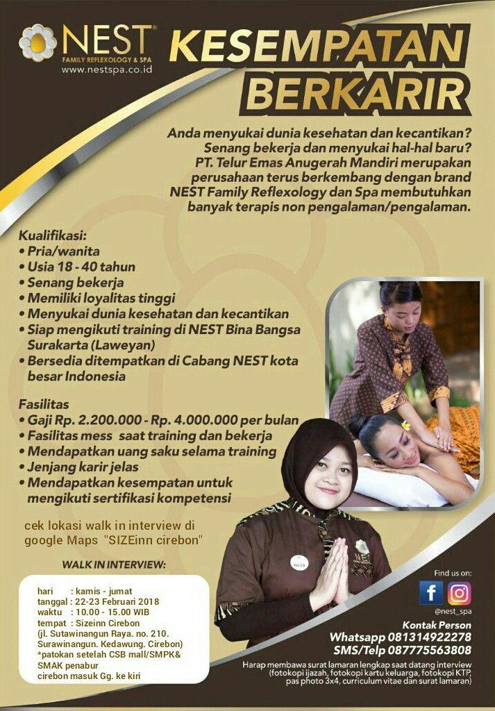 Lowongan Kerja Sizeinn Cirebon Walk In Interview Kesehatan