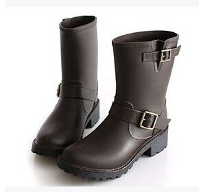 Fashion Short Rain boots Fashion Women's Casual Boots