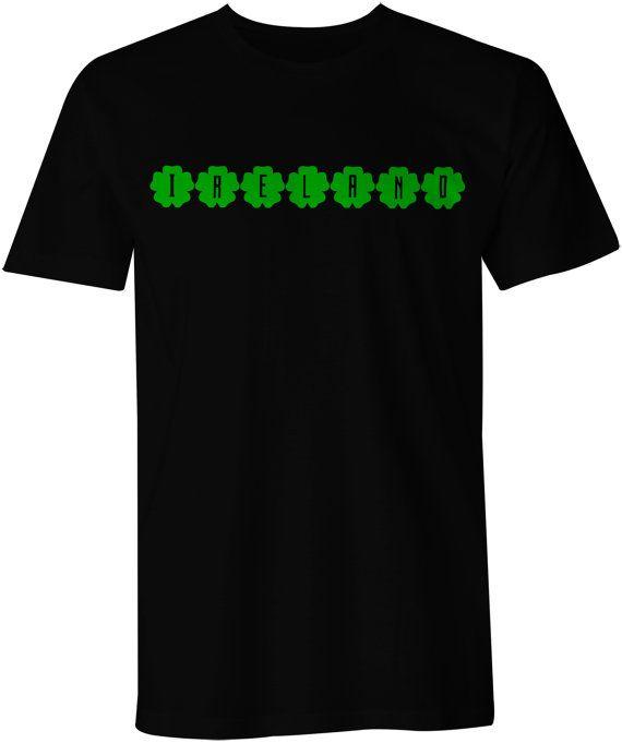 Ireland T-Shirt world travel tee bartender funny cool by Kebeker