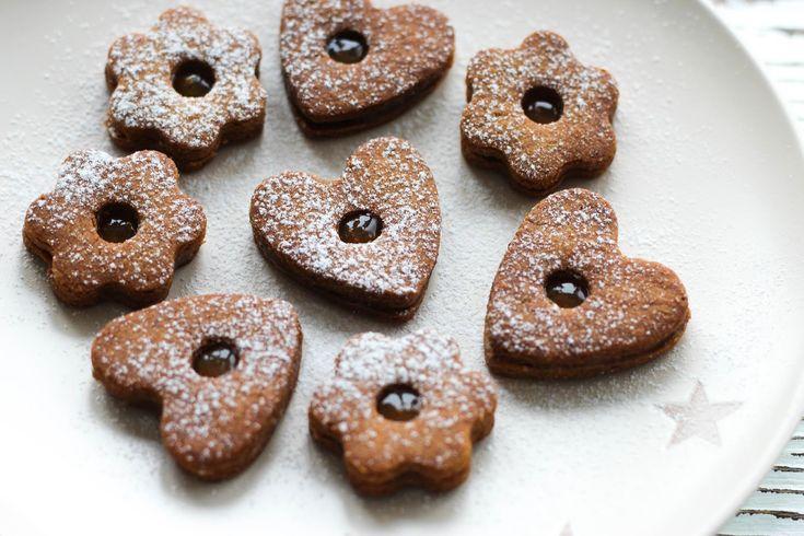 Linecké cukroví (ze špaldové mouky)