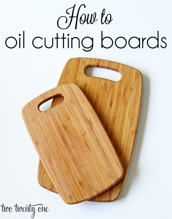 Fast And Easy Way To Bring New Life To Wood Cutting Boards!
