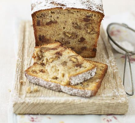 Banana, walnut & chocolate chip loaf - this was AMAZING, and I did it with browned butter and it worked great.