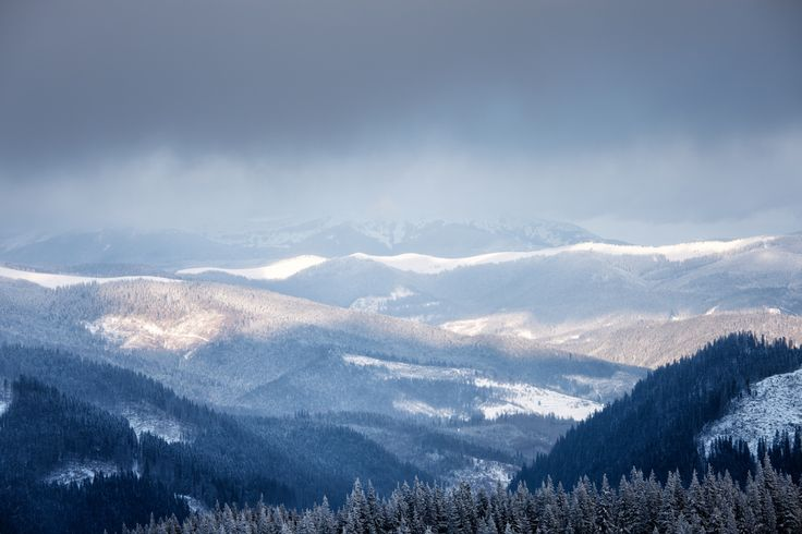 The Smoky Mountains in the winter - Gorgeous!