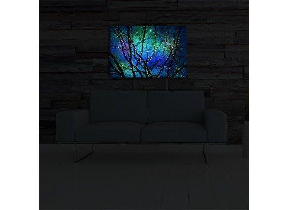 Illuminated wall art by sylvia cook twilight