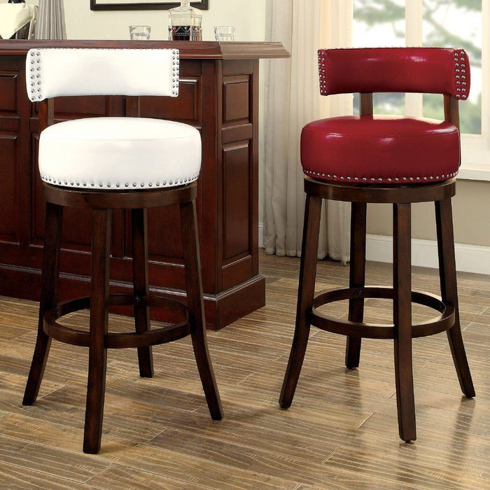 Boyers Swivel Bar Counter Stool In 2020 With Images Bar