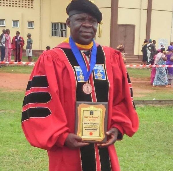 Warrant Officer Enem Aniemeka of the Nigerian Air Force (NAF) has emerged the overall best graduating doctorate student at the Babcock University Ilishan Remo Ogun.  Director of Public Relations and Information Air Commodore Olatokunbo Adesanya said Aniemeka was presented with award during the Universitys graduation ceremony on June 4.  According to Adesanya Aniemeka graduated with the highest Cumulative Grade Point Average (CGPA) of 4.67 to receive the award.  Aniemeka defied all odds to…