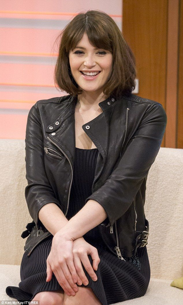 Beautiful: Gemma looked amazing as she chatted to Susanna Reid and Ben Shephard on Thursda...