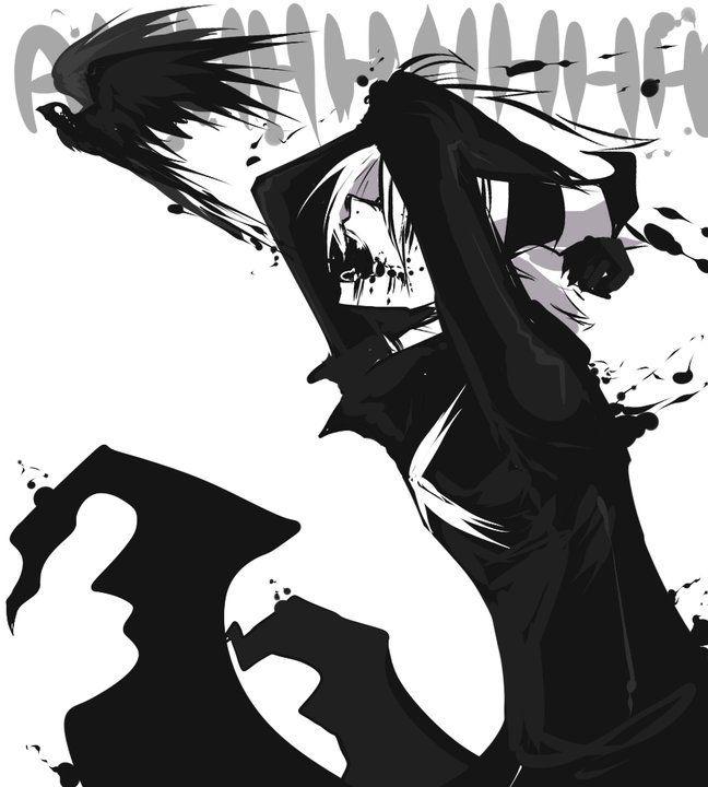 zerochan/AishaxNekox/Skye/#812844  ◾AishaxNekox Mangaka ◾Skye Character ◾Demon  ◾Horns  ◾Side View  ◾Unnaturally White Skin