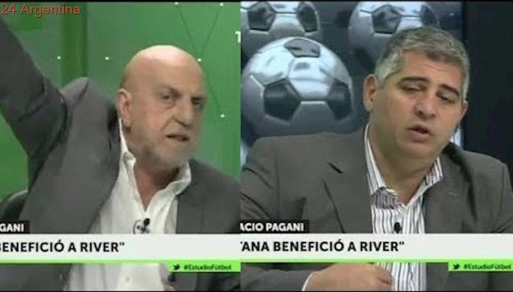 Estudio Futbol - 6 Noviembre 2017 - Farinella enojado tras el clásico River 1 - Boca 2 - Pagani