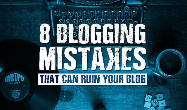 8 Blogging Mistakes New Bloggers Make http://www.digitalinformationworld.com/2016/04/infographic-are-you-making-these-rookie-blogging-mistakes.html