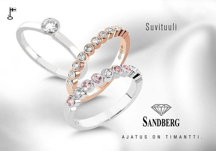 Suvituuli. Astetta romanttisempi tyyli. www.sandberg.fi/