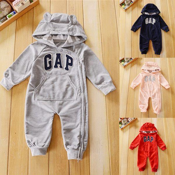 Name brand baby clothes unisex new born long sleeve hoodies roupa de bebe recem nascido macacao de marca ropa bebe recien nacido