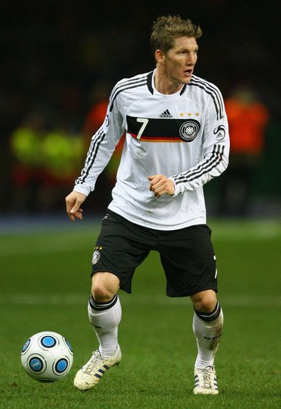 Bastian Schweinsteiger  Love that last name. So fun to say! Try it