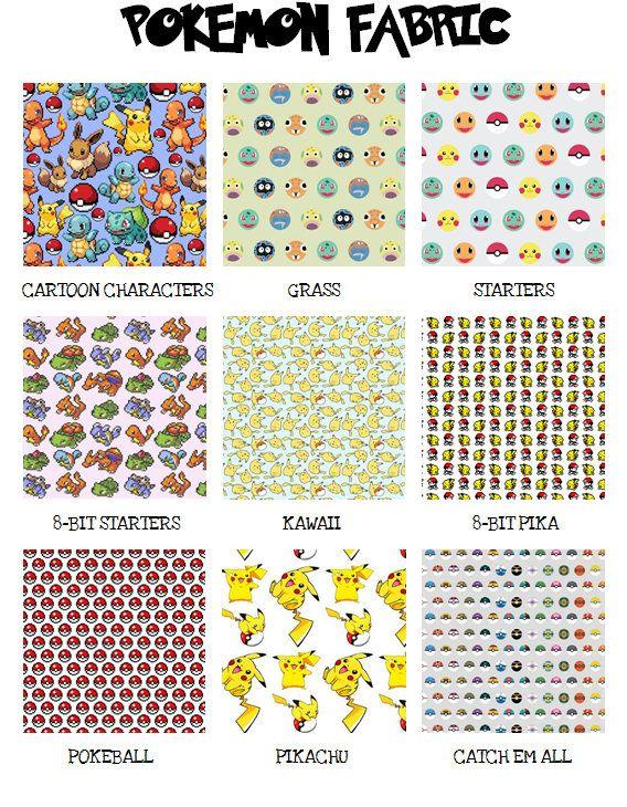 Pokemon-Inspired Blanket