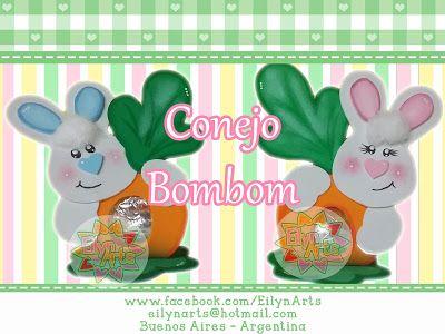 Conejo Bombom ~ Eilyn Arts