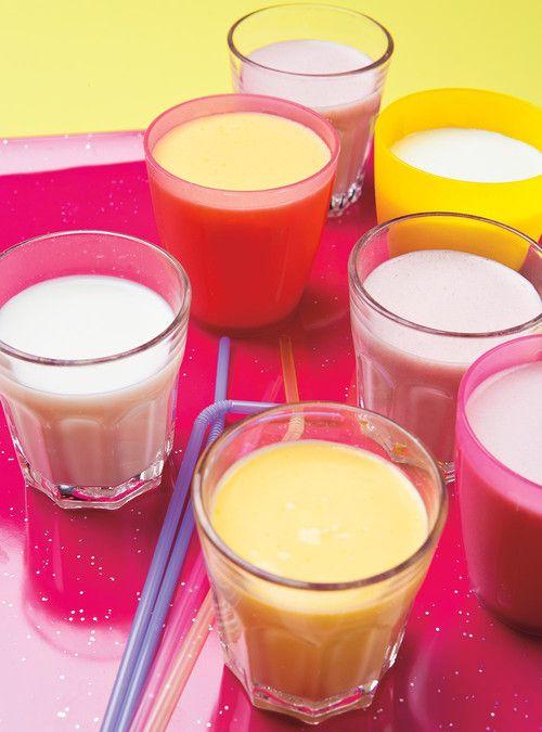 Smoothie aux fruits Recettes   Ricardo *réduire ou éliminer le sucre, replacer avec sirop d'érable.