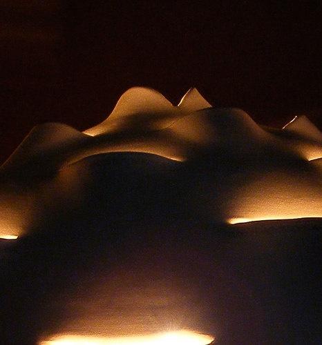 Nelum-Lotus flower inspired lamp