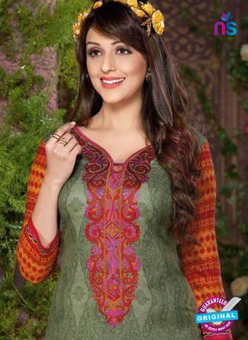 Buy online Rakhi 8014 A Green Mattee Pashmina Winter Suit from Newshop.in.    #designerpatialasuits #buypatialasuits #green #newshop