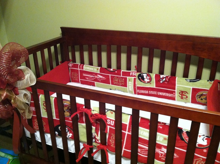 Fsu Bedding Used Material And Soft N Crafty Baby Bumper