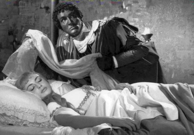 Anna Maria Ferrero con Vittorio Gassman