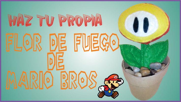Flor de Fuego de Mario Bros