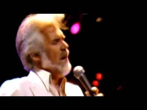 Kenny Rogers - Through The Years (Live Video)