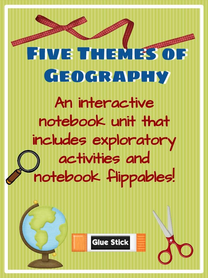 Want to get your kids engaged with the five themes of geography? Well, you've come to the right place!