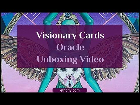Visionary Cards Oracle Unboxing & First Impressions