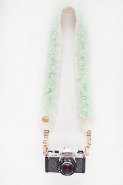 Vania Morris and Christine Berry, founders of Bloom Theory, turned the camera strap into an extraordinary accessory.