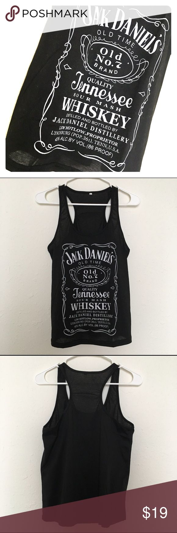 RARE 🇺🇸 Medium jack Daniels whiskey tank top Size medium jack Daniels whiskey tank top. Unknown brand. Brand new condition! Miss Me Tops Tank Tops
