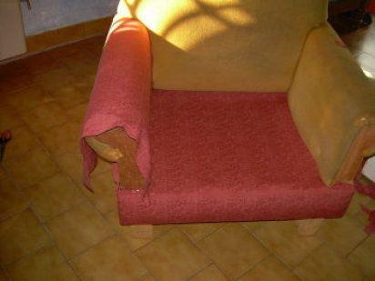 Todos los pasos que debes seguir para cambiar el tapizado - Telas para tapizar un sillon ...