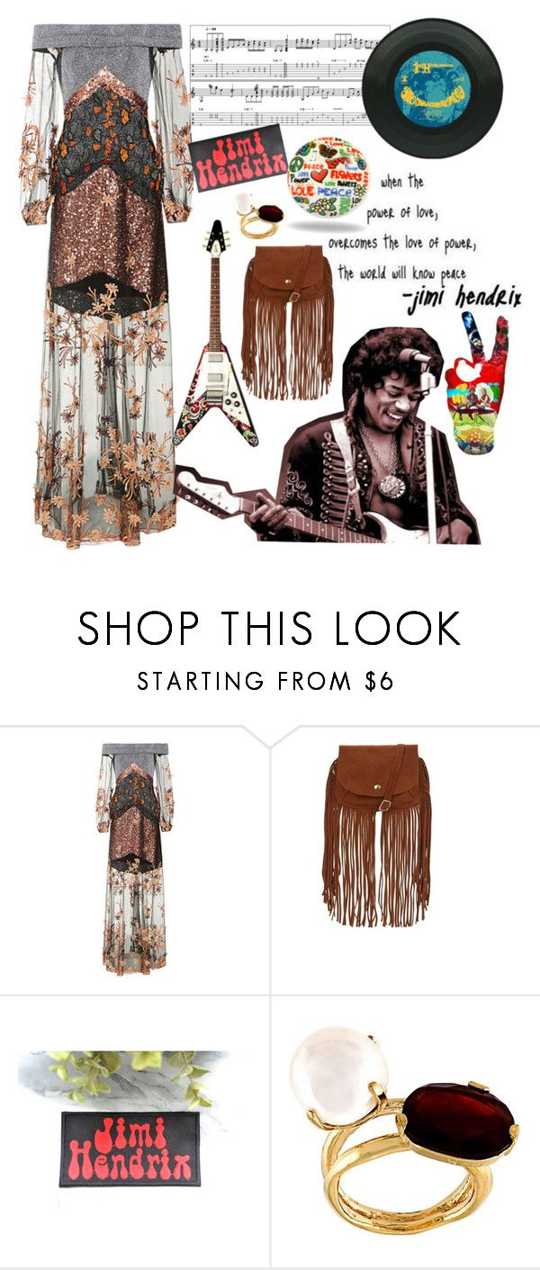 """""""Are you experienced?"""" by xmoonagedaydreamx ❤ liked on Polyvore featuring Rodarte, Wouters & Hendrix and Trinca-Ferro"""