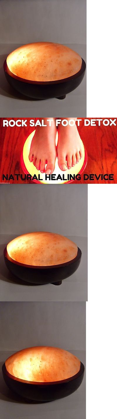 Ion Foot Baths: Natural Himalayan Rock Crystal Ionic Salt Foot Detoxer Actual Pictured Lamp -> BUY IT NOW ONLY: $82.39 on eBay!