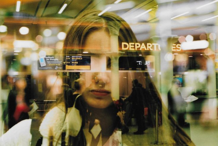 "antropomorfisme:  ""Departure day  Double exposure  35mm, November 2015, London  Instagram - Flickr  """