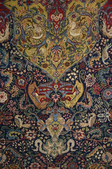 Carpet Museum, Tehran, Iran    http://www.asyahali.com/