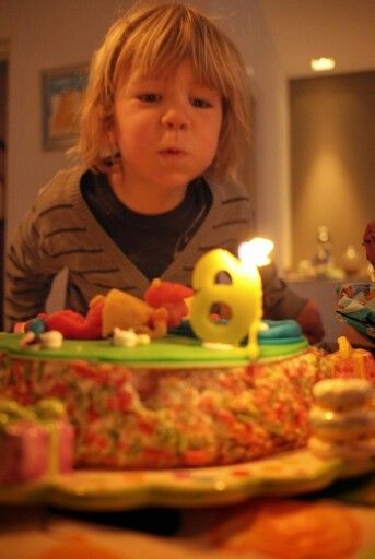 Mees 6! Minigolf cake