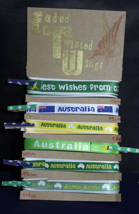 Australia ribbon trim
