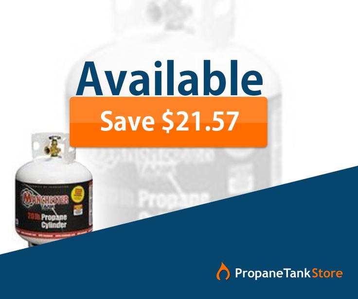 #Discount - Now buy 20 lb Manchester Propane Tank with gauge only for $40.07.  Save heavily on all propane tanks: