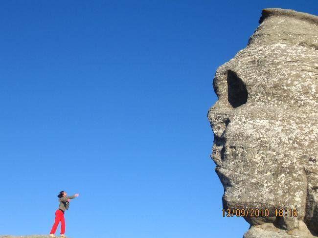 Sphinx in Bucegi