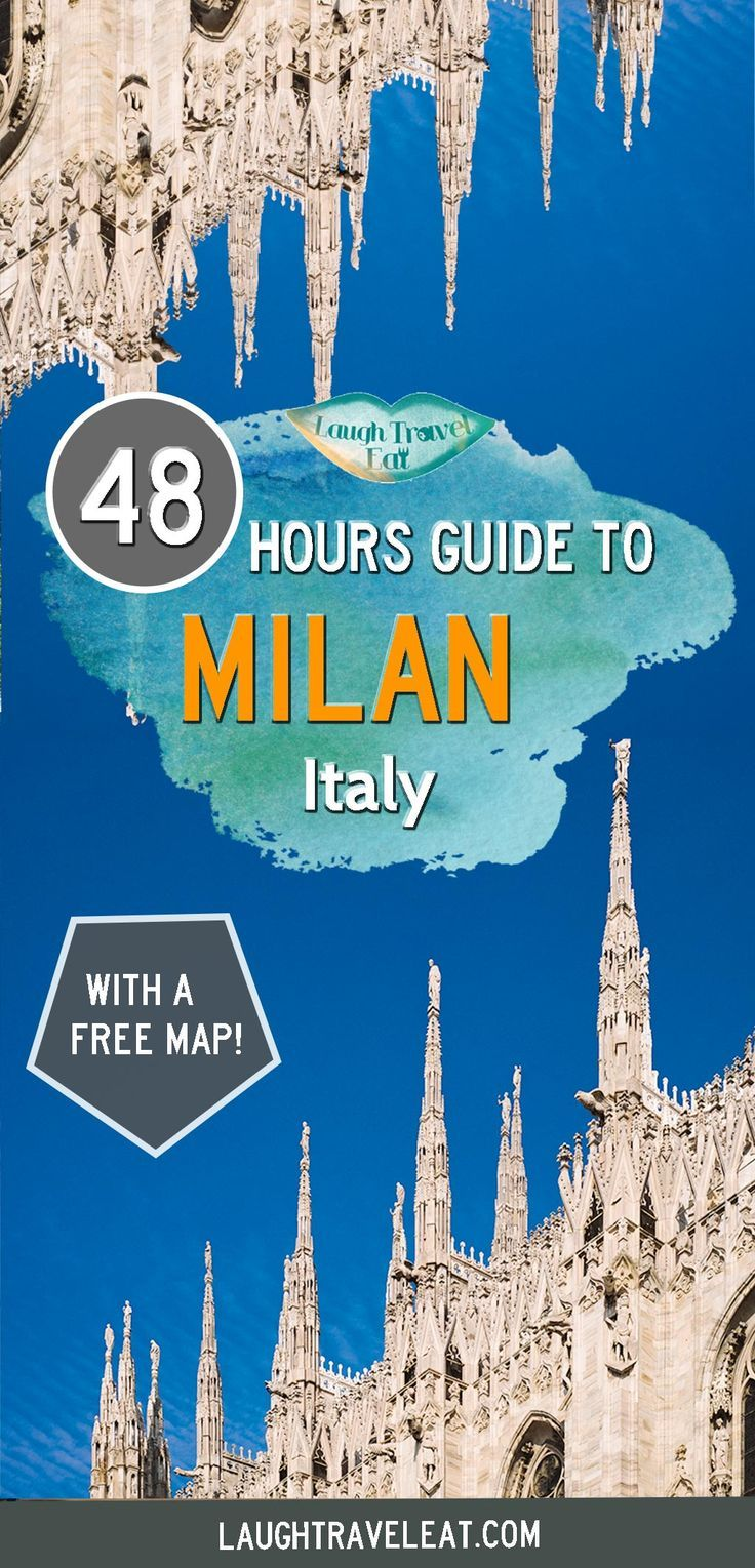 Milan is one of the most famous cities in Italy, with its cathedral and fashion sense. What else is there to see? Here's my 48 hours guide