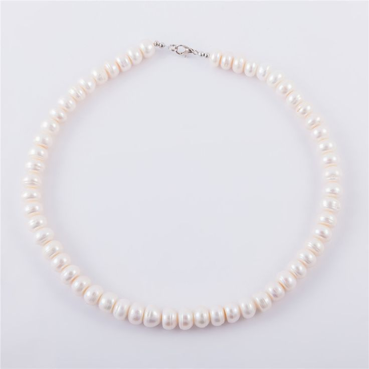 Fine Jewelry Natural Pearl Necklace Women Freshwater Pearl Choker Necklaces For Women Wedding Jewellery Collares Mujer Bijoux