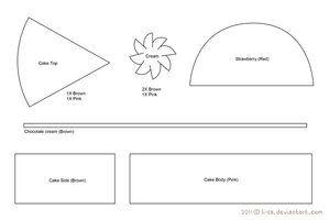 **lots of patterns for pincushions Food on #Plushie-Database - deviantART