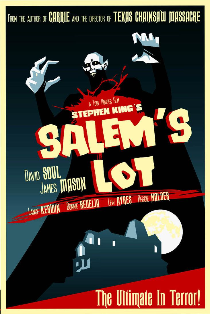 """Salem's Lot - This movie gave me nightmares.  It is still scary to me because the vampire is so scary looking.  The graphics are horrible, it is not the best movie, but for those of you who like """"B"""" films, this is right up your alley.  I was quite young when I saw it but the nightmares were very real."""