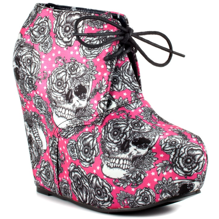 Bright Light Wedge - Fuchsia  Iron Fist
