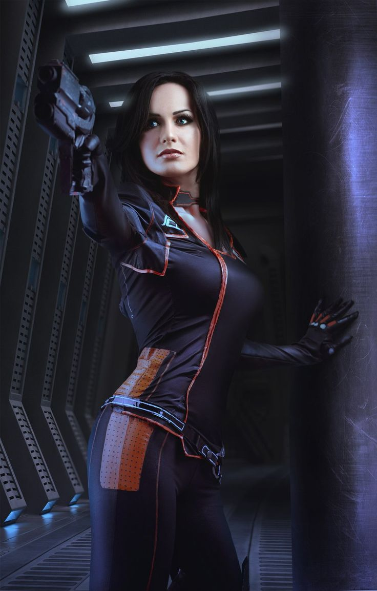 tits-mcgeek:  thecyberwolf:  Mass Effect - Miranda Lawson Cosplay  by Hannuki   Sweet costume, but I really REALLY need to know what boots those are in the first costume. UUNF.