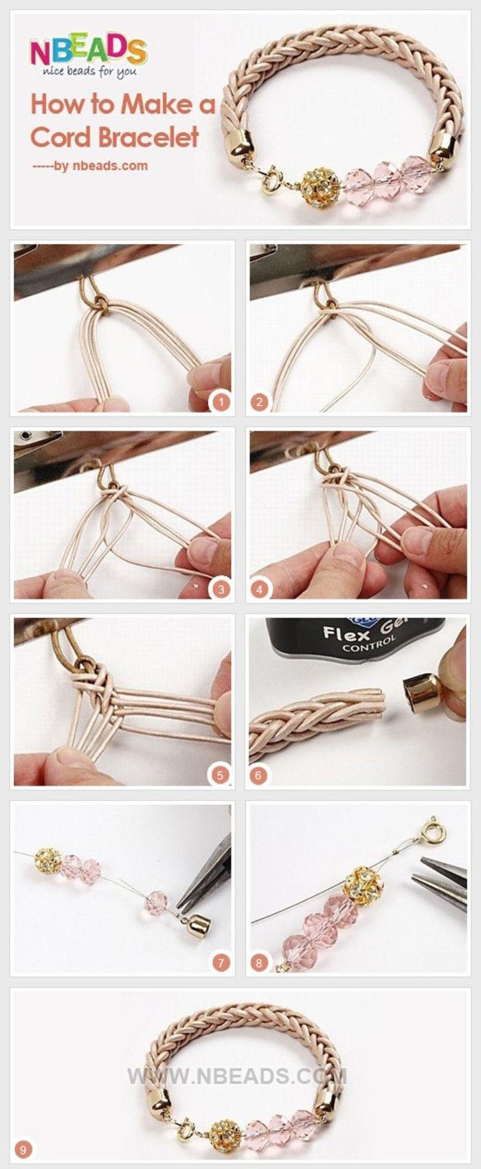 bracelet made of beads...♥ Deniz ♥